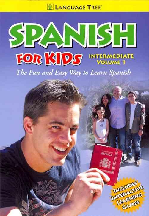 SPANISH FOR KIDS INTERMEDIATE VOL 1 (DVD)